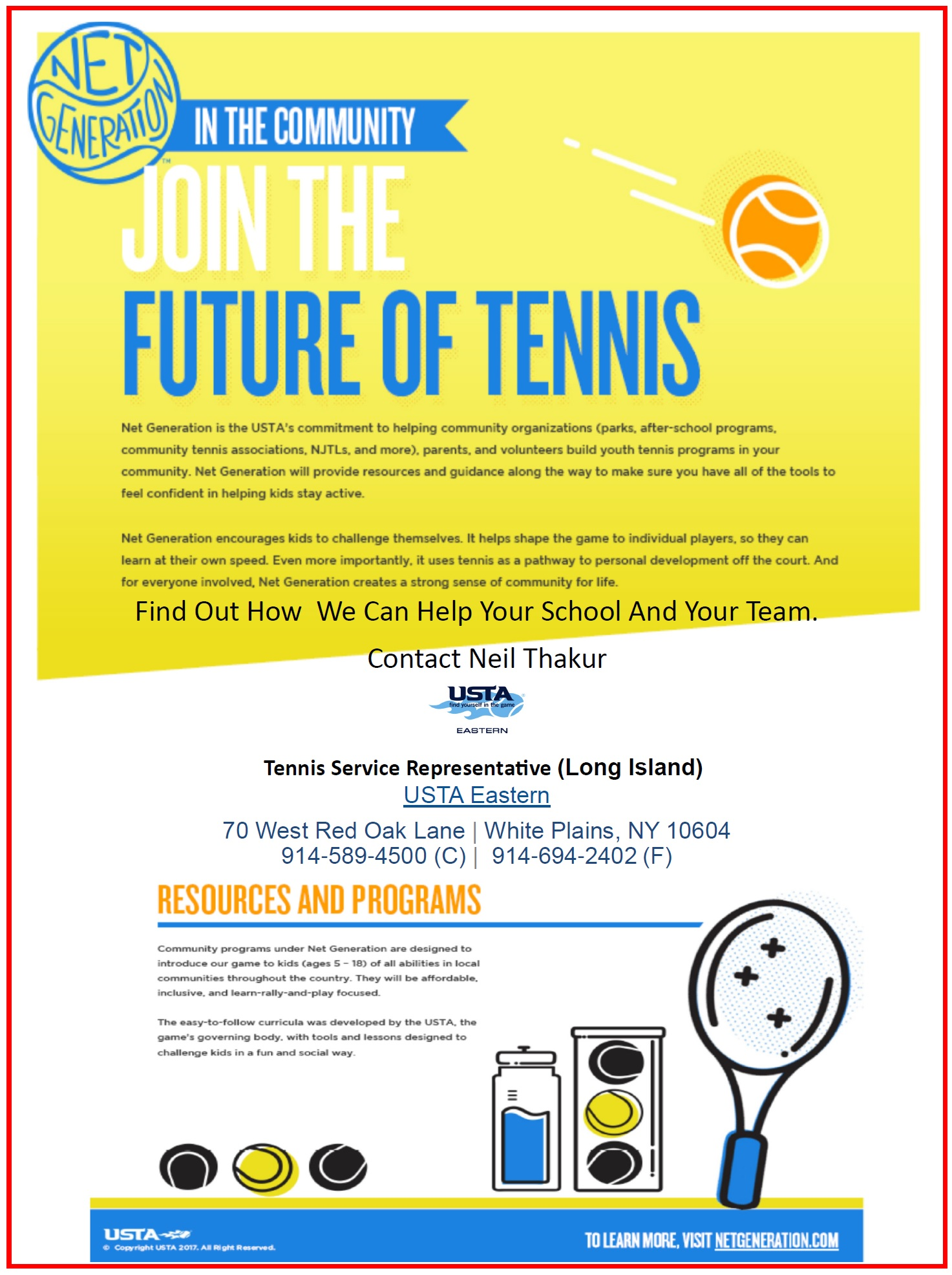 Join the Future of Tennis